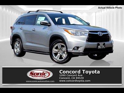 New 2015 Toyota Highlander For Sale Nationwide Autotrader