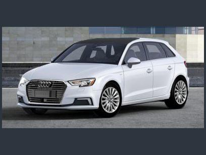 New 2018 Audi A3 E Tron Prestige Hatchback