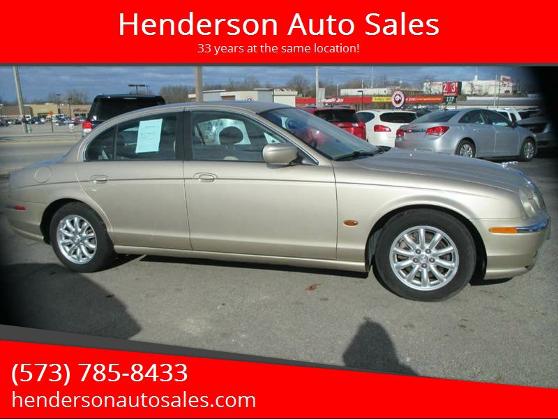 Used 2001 Jaguar S-TYPE in Poplar Bluff, MO - 448680458 - 1