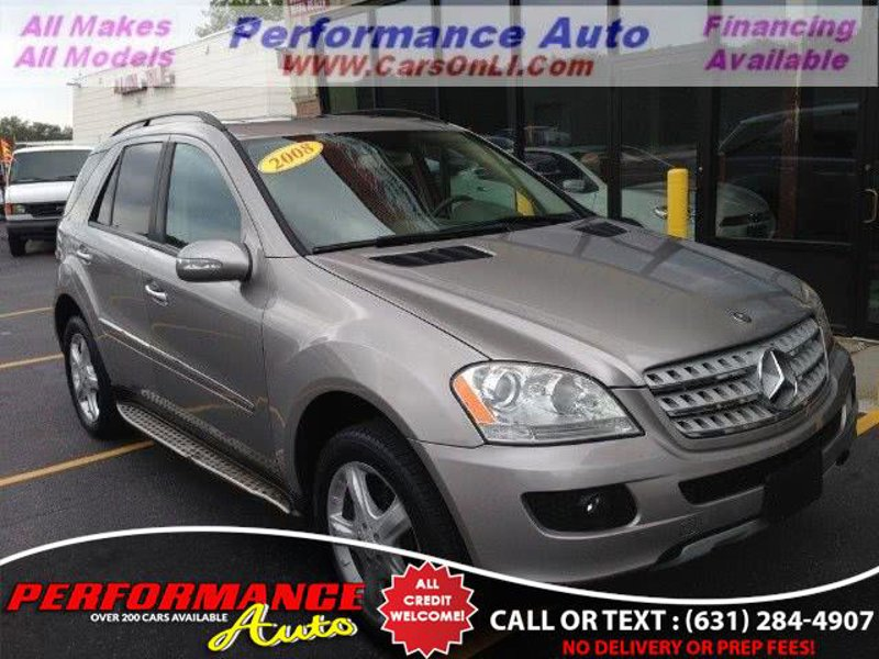 Used 2008 Mercedes-Benz ML 350 4MATIC BOHEMIA, NY 11716 - 410640787 - 1